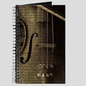 Violin Notes Journal