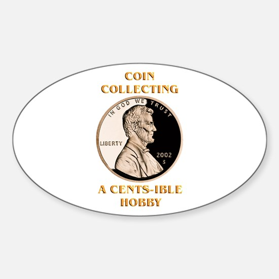 Lincoln Cent Oval Decal
