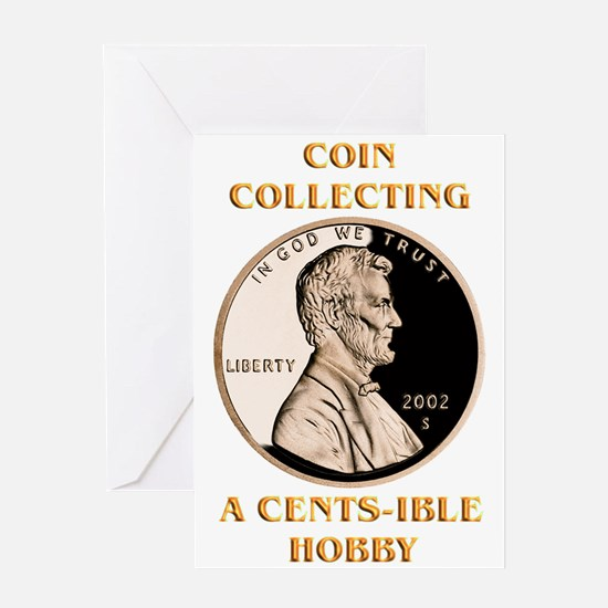 Lincoln Cent Greeting Card