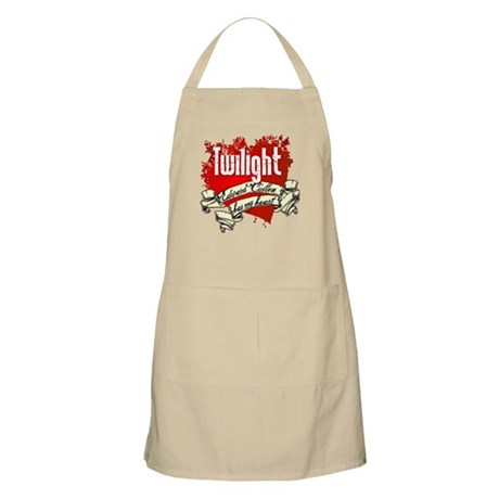 Edward Cullen Tattoo BBQ Apron