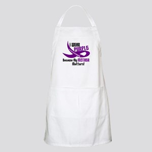 I Wear Purple For My Mother 33 PC BBQ Apron