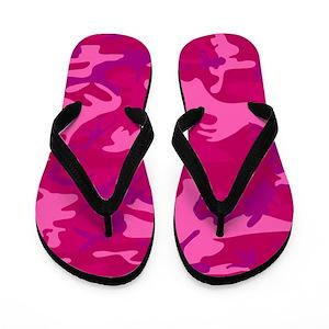 608c9b1340df ... Pink Camo Flip Flops - CafePress ...