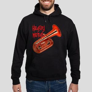 Heavy Metal Tuba Hoodie (dark)
