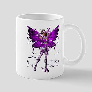 Butterfly Kisses Amethyst Mug