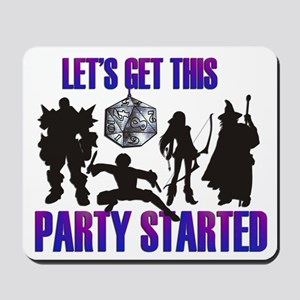 Party Started Mousepad