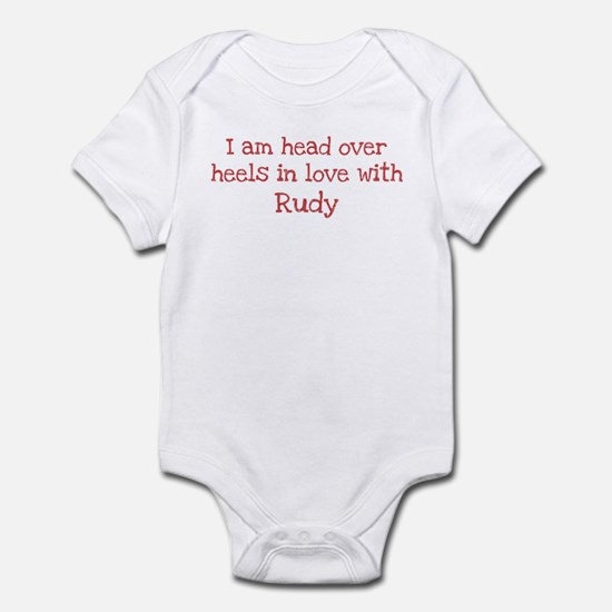 In Love with Rudy Infant Bodysuit