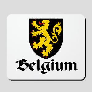 Belgium: Heraldic Mousepad