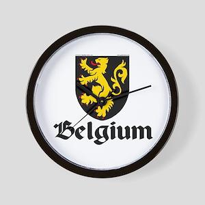 Belgium: Heraldic Wall Clock