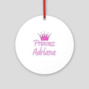 Princess Adriana Ornament (Round)