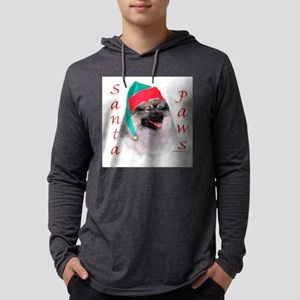 Santa Paws Keeshond Long Sleeve T-Shirt