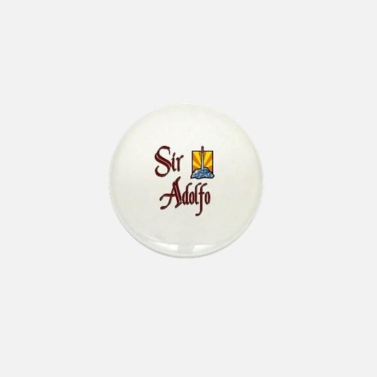 Sir Adolfo Mini Button