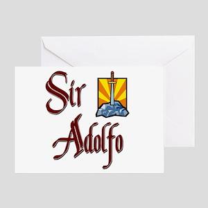 Sir Adolfo Greeting Card
