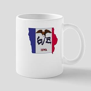 Iowa Stripe Custom Design Mug