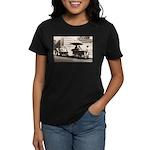 Ice Drinks New York Women's Dark T-Shirt