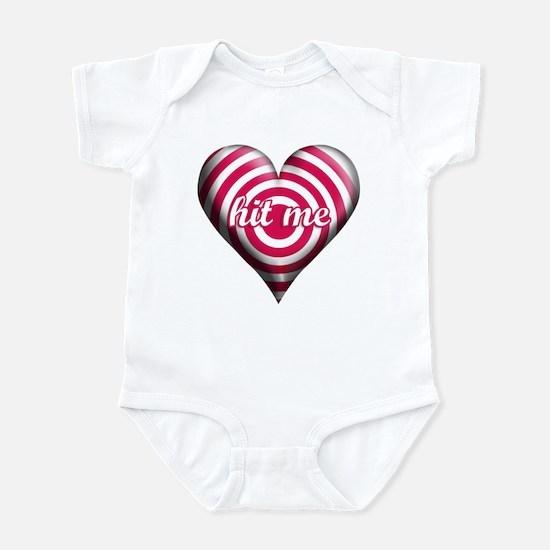 VDAY BULLSEYE Infant Bodysuit