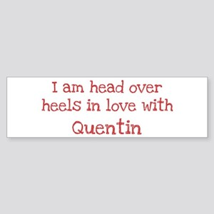 In Love with Quentin Bumper Sticker