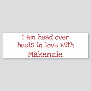 In Love with Makenzie Bumper Sticker