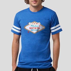 Las Vegas Birthday 60 Mens Football Shirt T-Shirt