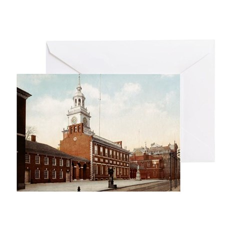 Independence Hall Phil. Greeting Card