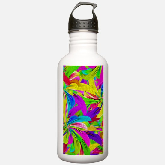 Sports Water Bottle With Leaf Sea 4