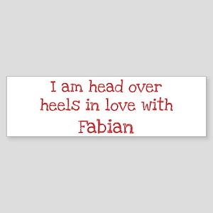 In Love with Fabian Bumper Sticker