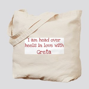 In Love with Greta Tote Bag