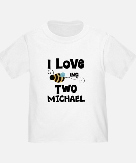 2nd Birthday Personalized Bee T-Shirt