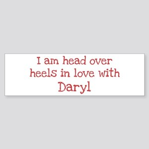 In Love with Daryl Bumper Sticker