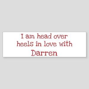 In Love with Darren Bumper Sticker
