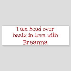 In Love with Breanna Bumper Sticker