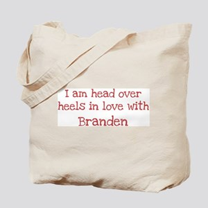 In Love with Branden Tote Bag