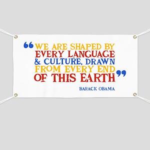 Culture Obama Quote Banner