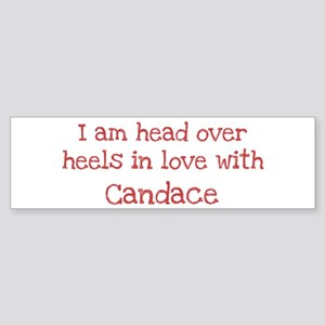 In Love with Candace Bumper Sticker