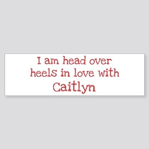 In Love with Caitlyn Bumper Sticker