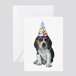 Beagle Party Greeting Card