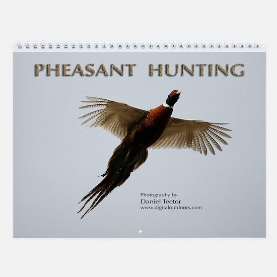 Pheasant Hunting Wall Calendar