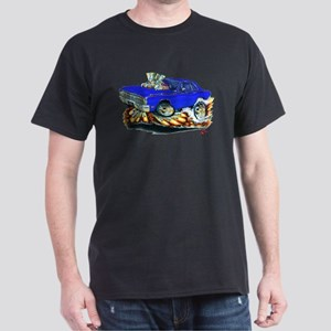 Dodge Dart Blue Car Dark T-Shirt