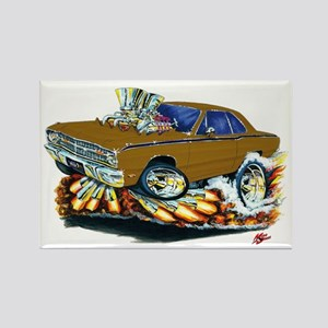 Dodge Dart Brown Car Rectangle Magnet
