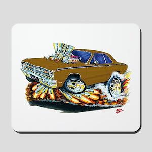 Dodge Dart Brown Car Mousepad