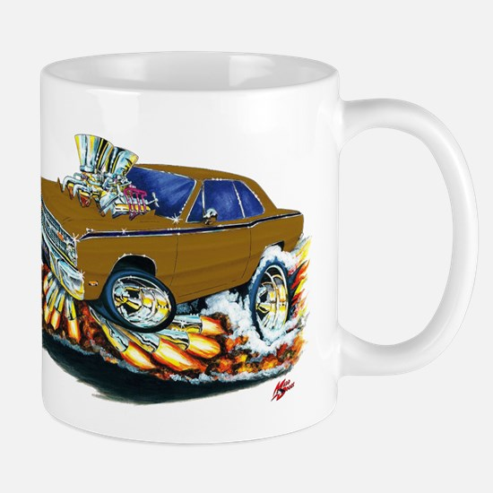 Dodge Dart Brown Car Mug
