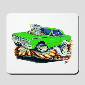 Dodge Dart Lime Car Mousepad
