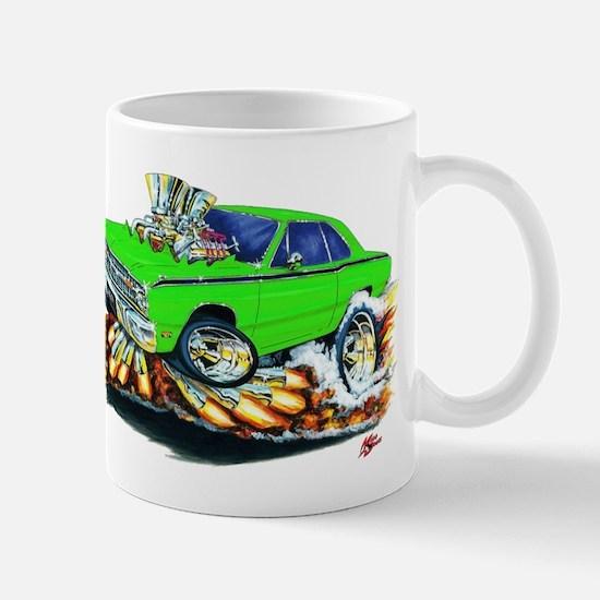 Dodge Dart Lime Car Mug