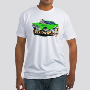 Dodge Dart Lime Car Fitted T-Shirt