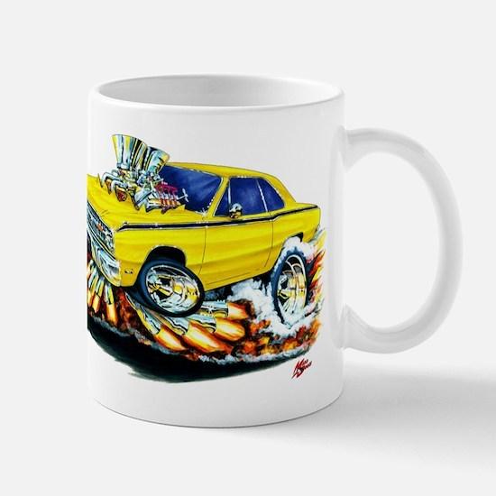 Dodge Dart Yellow Car Mug