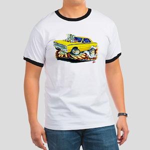 Dodge Dart Yellow Car Ringer T