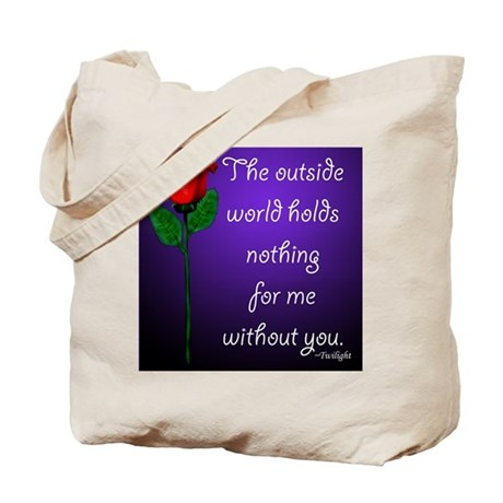 Outside World Twilight Tote Bag
