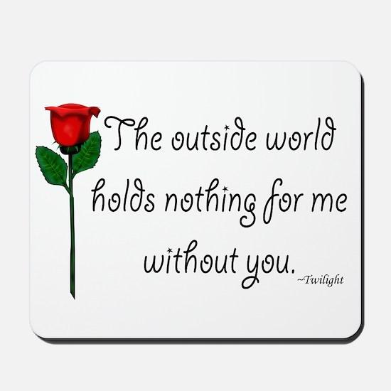 Outside World Twilight Mousepad