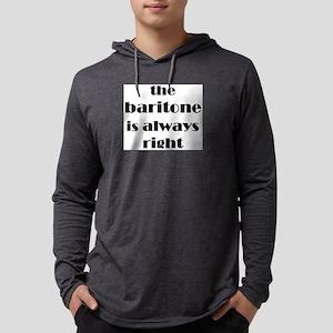baritone right Mens Hooded Shirt