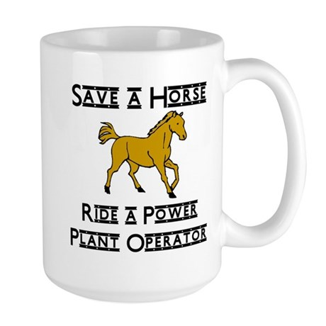 Power Plant Operator Large Mug