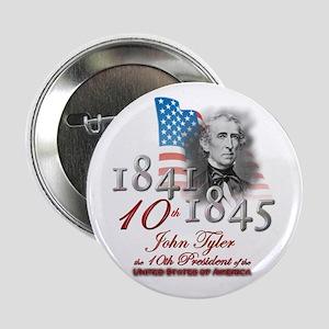 "10th President - 2.25"" Button"